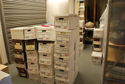Archive in their New Home at the CRC Day 5